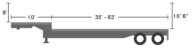 Stretch Single Drop dimensions